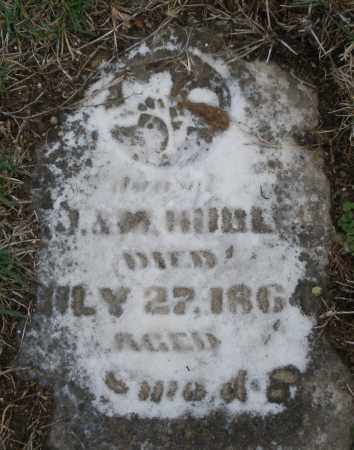 HUBLER, CHILD OF - Montgomery County, Ohio | CHILD OF HUBLER - Ohio Gravestone Photos