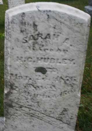 HUBLEY, SARAH A. - Montgomery County, Ohio | SARAH A. HUBLEY - Ohio Gravestone Photos