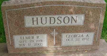 HUDSON, ELMER R - Montgomery County, Ohio | ELMER R HUDSON - Ohio Gravestone Photos