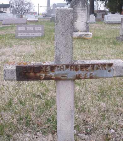 HUESMAN, ELIZABETH - Montgomery County, Ohio | ELIZABETH HUESMAN - Ohio Gravestone Photos