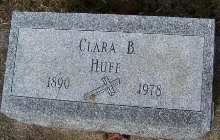 HUFF, CLARA B. - Montgomery County, Ohio | CLARA B. HUFF - Ohio Gravestone Photos