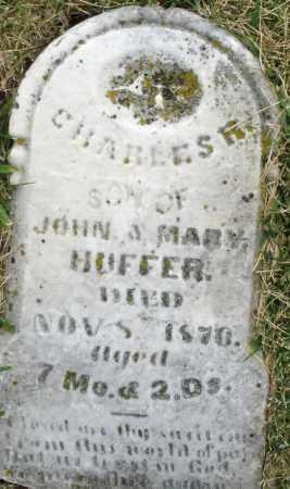 HUFFER, CHARLES R. - Montgomery County, Ohio | CHARLES R. HUFFER - Ohio Gravestone Photos