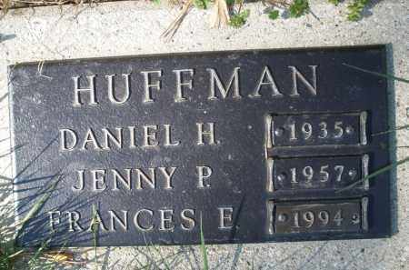 HUFFMAN, FRANCES E. - Montgomery County, Ohio | FRANCES E. HUFFMAN - Ohio Gravestone Photos