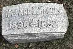 HUGHES, WILLARD - Montgomery County, Ohio | WILLARD HUGHES - Ohio Gravestone Photos