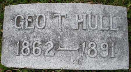 HULL, GEORGE T. - Montgomery County, Ohio | GEORGE T. HULL - Ohio Gravestone Photos