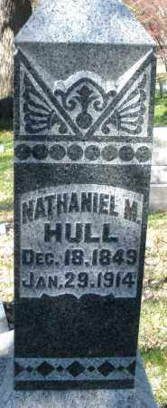 HULL, NATHANIEL M. - Montgomery County, Ohio | NATHANIEL M. HULL - Ohio Gravestone Photos
