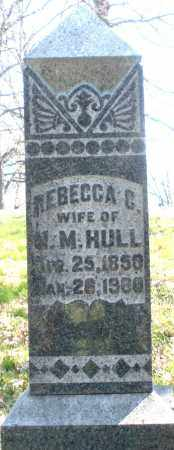 HULL, REBECCA C. - Montgomery County, Ohio | REBECCA C. HULL - Ohio Gravestone Photos