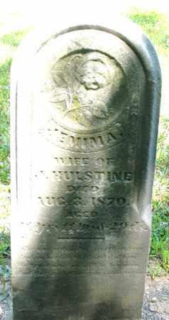HULSTINE, JEMIMA - Montgomery County, Ohio | JEMIMA HULSTINE - Ohio Gravestone Photos
