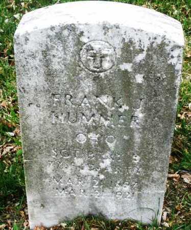 HUMMER, FRANK J. - Montgomery County, Ohio | FRANK J. HUMMER - Ohio Gravestone Photos