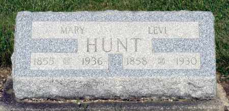 HUNT, LEVI - Montgomery County, Ohio | LEVI HUNT - Ohio Gravestone Photos