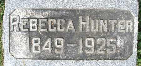 HUNTER, REBECCA - Montgomery County, Ohio | REBECCA HUNTER - Ohio Gravestone Photos