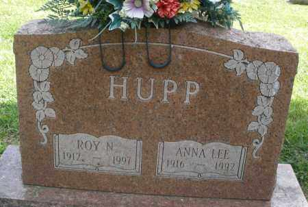 HUPP, ANNA LEE - Montgomery County, Ohio | ANNA LEE HUPP - Ohio Gravestone Photos