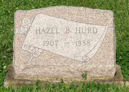 HURD, HAZEL B. - Montgomery County, Ohio | HAZEL B. HURD - Ohio Gravestone Photos