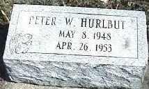 HURLBUT, PETER W. - Montgomery County, Ohio | PETER W. HURLBUT - Ohio Gravestone Photos