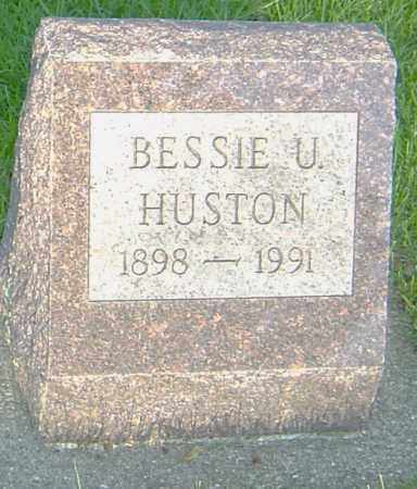 HUSTON, BESSIE U - Montgomery County, Ohio | BESSIE U HUSTON - Ohio Gravestone Photos