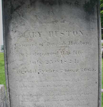 HUSTON, MARY - Montgomery County, Ohio | MARY HUSTON - Ohio Gravestone Photos