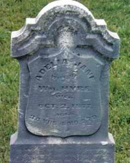 HYRE, ADELIA - Montgomery County, Ohio | ADELIA HYRE - Ohio Gravestone Photos