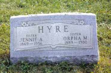 HYRE, ORPHA M. - Montgomery County, Ohio | ORPHA M. HYRE - Ohio Gravestone Photos