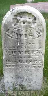 HYRE, LEWIS M. - Montgomery County, Ohio | LEWIS M. HYRE - Ohio Gravestone Photos