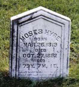 HYRE, MOSES - Montgomery County, Ohio | MOSES HYRE - Ohio Gravestone Photos