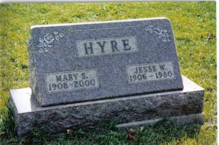 HYRE, MARY S. - Montgomery County, Ohio | MARY S. HYRE - Ohio Gravestone Photos
