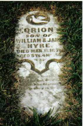 HYRE, ORION - Montgomery County, Ohio | ORION HYRE - Ohio Gravestone Photos