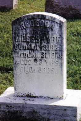 HYRE, REBECCA - Montgomery County, Ohio | REBECCA HYRE - Ohio Gravestone Photos