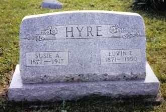 HYRE, EDWIN E. - Montgomery County, Ohio | EDWIN E. HYRE - Ohio Gravestone Photos
