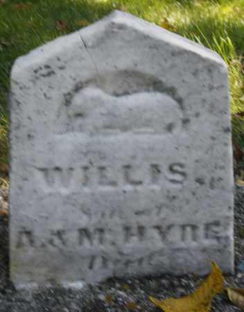 HYRE, WILLIS - Montgomery County, Ohio | WILLIS HYRE - Ohio Gravestone Photos