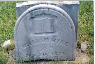 HYRE, WILLIAM - Montgomery County, Ohio | WILLIAM HYRE - Ohio Gravestone Photos