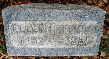IMBODEN, ELLEN - Montgomery County, Ohio | ELLEN IMBODEN - Ohio Gravestone Photos