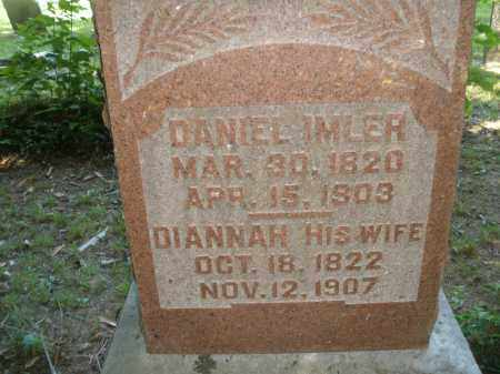 IMLER, DANIEL - Montgomery County, Ohio | DANIEL IMLER - Ohio Gravestone Photos