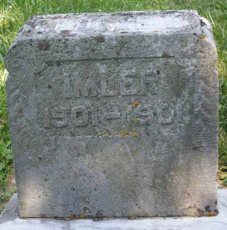 IMLER, INFANT - Montgomery County, Ohio | INFANT IMLER - Ohio Gravestone Photos