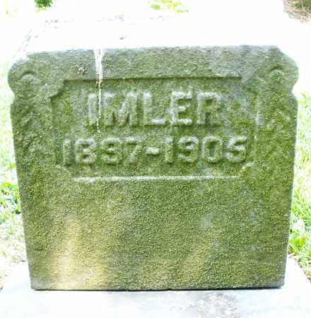 IMLER, RUSSELL B. - Montgomery County, Ohio | RUSSELL B. IMLER - Ohio Gravestone Photos