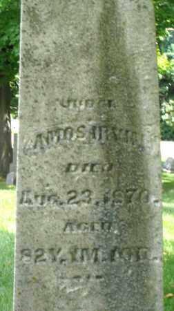 IRVIN, AMOS - Montgomery County, Ohio | AMOS IRVIN - Ohio Gravestone Photos