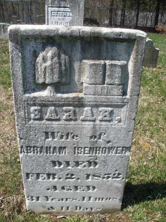 ISENHOWER, SARAH - Montgomery County, Ohio | SARAH ISENHOWER - Ohio Gravestone Photos