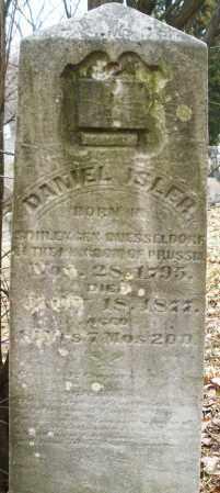 ISLER, DANIEL - Montgomery County, Ohio | DANIEL ISLER - Ohio Gravestone Photos