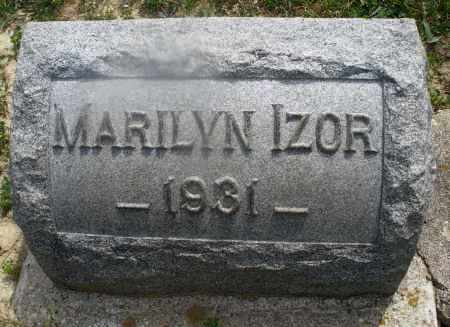 IZOR, MARILYN - Montgomery County, Ohio | MARILYN IZOR - Ohio Gravestone Photos