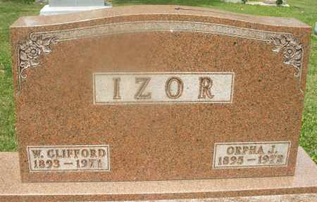 IZOR, W.CLIFFORD - Montgomery County, Ohio | W.CLIFFORD IZOR - Ohio Gravestone Photos