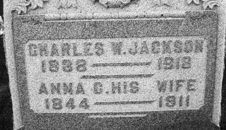 JACKSON, CHARLES W. - Montgomery County, Ohio | CHARLES W. JACKSON - Ohio Gravestone Photos