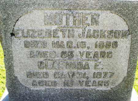 JACKSON, CLARINDA E. - Montgomery County, Ohio | CLARINDA E. JACKSON - Ohio Gravestone Photos