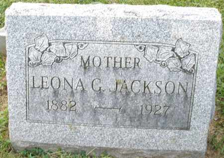 JACKSON, LEONA G. - Montgomery County, Ohio | LEONA G. JACKSON - Ohio Gravestone Photos