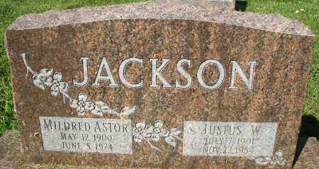 ASTOR JACKSON, MILDRED - Montgomery County, Ohio | MILDRED ASTOR JACKSON - Ohio Gravestone Photos