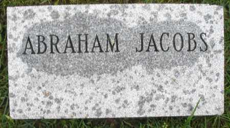 JACOBS, ABRAHAM - Montgomery County, Ohio | ABRAHAM JACOBS - Ohio Gravestone Photos