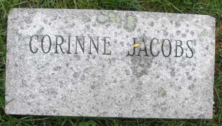 JACOBS, CORINNE - Montgomery County, Ohio | CORINNE JACOBS - Ohio Gravestone Photos