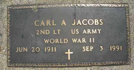 JACOBS, CARL A. - Montgomery County, Ohio | CARL A. JACOBS - Ohio Gravestone Photos