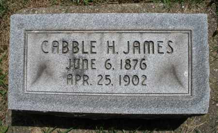 JAMES, CABBLE H. - Montgomery County, Ohio | CABBLE H. JAMES - Ohio Gravestone Photos