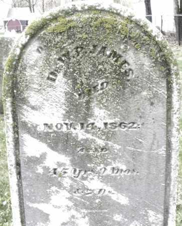 JAMES, DR.W.P. - Montgomery County, Ohio | DR.W.P. JAMES - Ohio Gravestone Photos