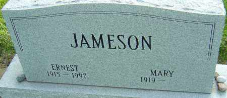 JAMESON, ERNEST - Montgomery County, Ohio | ERNEST JAMESON - Ohio Gravestone Photos
