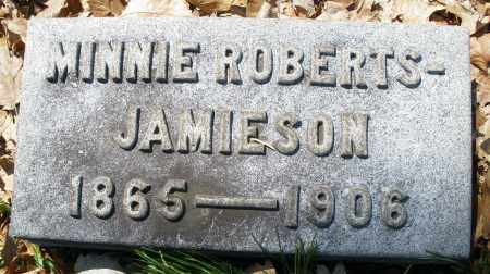 JAMIESON, MINNIE - Montgomery County, Ohio | MINNIE JAMIESON - Ohio Gravestone Photos
